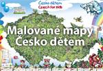 Ručně malovaná mapa - Česko dětem